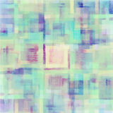 Pattern of colorful abstract watercolor geometric Royalty Free Stock Photography