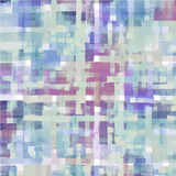 Pattern of colorful abstract watercolor geometric Royalty Free Stock Photo