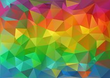 Colorful Pattern Geometric royalty free illustration
