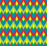 Pattern. Colorful background, seamless pattern - vector illustration Royalty Free Stock Photography
