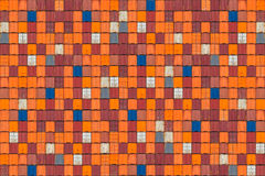 Pattern of colorful cargo shipping containers Royalty Free Stock Photos