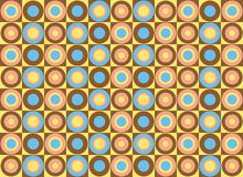 Pattern of colorful circles. Vector art Stock Photography