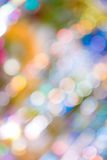 Pattern of colorful decoration lights Royalty Free Stock Image