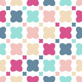 Pattern of colorful flowers Stock Photos