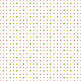 Pattern with colorful polka dots. Vector illustration. Stock Images