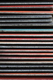 Pattern of colorful roofing and tile Royalty Free Stock Photography
