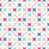 Pattern of colorful stars Royalty Free Stock Image