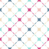 Pattern of colorful stars Stock Photography