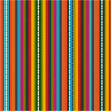 Pattern with colorful zig zag Stock Photography