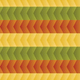 Pattern of colorful zigzags Royalty Free Stock Photos