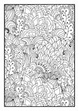 Pattern for coloring book Stock Photos