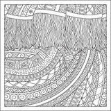 Pattern for coloring book. Stock Image