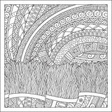 Pattern for coloring book. Stock Photography