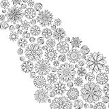 Pattern for coloring book. Royalty Free Stock Photo