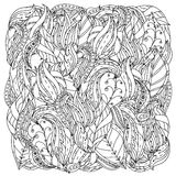Pattern for coloring book Royalty Free Stock Photography