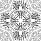 Pattern for coloring book. stock illustration