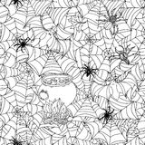 Pattern for coloring book Royalty Free Stock Images
