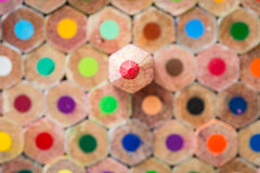 Pattern colour pencils texture and background stock photos