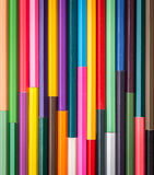 Pattern colour pencils texture and background royalty free stock photo