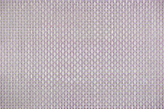 Pattern of colour plastic weave texture background Royalty Free Stock Photos