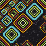 Pattern from colour squares Royalty Free Stock Photo