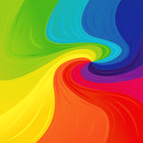 Pattern with colourful spectrum colors Royalty Free Stock Photography