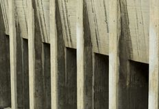 Pattern composed of light and dark blocks. Of raw concrete stock photo