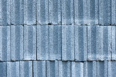 Pattern of concrete bricks. Pattern of concrete block bricks stacked together royalty free stock photos