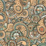 The pattern consisting of colored patterns buta Royalty Free Stock Photo