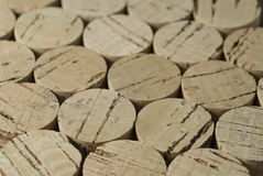 Pattern of Cork Tops Royalty Free Stock Photography