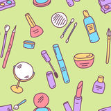 Pattern cosmetics Stock Photo
