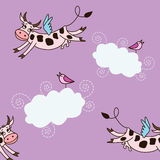 Pattern cow Stock Image