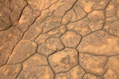 Pattern of cracked seamless rock Royalty Free Stock Photos