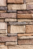 Pattern cracked stone wall modern style for background Stock Images