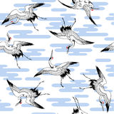 Pattern of crane, Royalty Free Stock Photography