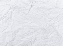 Pattern of the crashed paper Stock Image