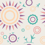 Pattern cream. Seamless pattern cream Summer mood Royalty Free Stock Photography