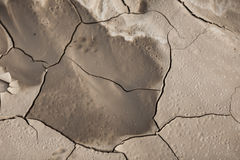 Pattern created from a photo cracked earth. Dry weather, drought. Stock Images