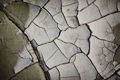 Pattern created from a photo cracked earth. Dry weather, drought. Royalty Free Stock Image