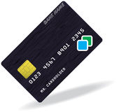 Pattern of credit card Royalty Free Stock Images