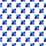 Pattern cross elipse-01. Seamless pattern with two blue crossed ellipses on white background. Ready for your design. Vector illustration vector illustration