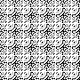 Pattern Cross Monochrome. Paint decoration Royalty Free Stock Images