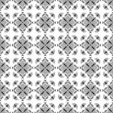 Pattern Cross Monochrome. Paint decoration Stock Image