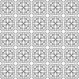 Pattern Cross Monochrome. Paint decoration Stock Photography