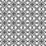 Pattern Cross Monochrome. Paint decoration Stock Images