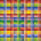 Pattern with Crossing Lines - Multicolored Royalty Free Stock Image