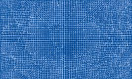 Pattern cube background. Vector rendering Royalty Free Stock Photo
