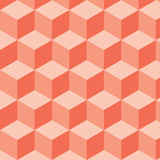 Pattern cubes Stock Images