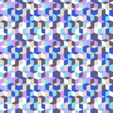 Pattern with cubes in random colors Stock Photos
