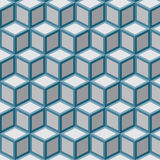 Pattern cubes (vector) Stock Photo